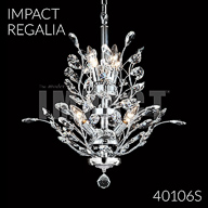 40106S : Crystal Chandelier