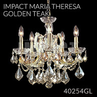 40254GL : Crystal Chandelier