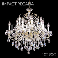 40290G : Crystal Chandelier