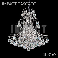 40316S : Crystal Chandelier