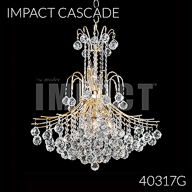 40317G : Crystal Chandelier