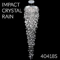 40418S : Large Entry Crystal Chandelier