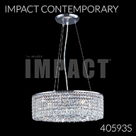 40593S : Crystal Chandelier