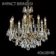 40618MB : Crystal Chandelier