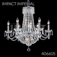 40660S : Crystal Chandelier