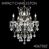 40675BZ : Crystal Chandelier