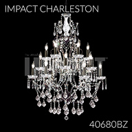 40680BZ : Crystal Chandelier