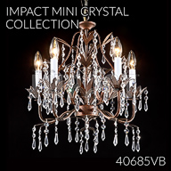 40685VB : Mini Crystal Chandelier Collection
