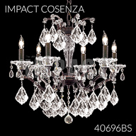 40696BS : Crystal Chandelier