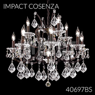 40697BS : Crystal Chandelier