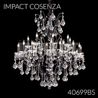 40699BS : Crystal Chandelier