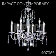 40706S : Crystal Chandelier