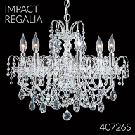 40726S : Crystal Chandelier