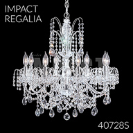 40728S : Crystal Chandelier