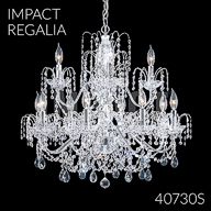 40730S : Crystal Chandelier