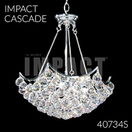 40734S : Crystal Chandelier
