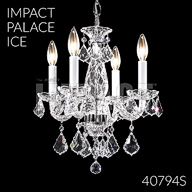 40794S : Crystal Chandelier