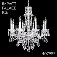 40798S : Crystal Chandelier