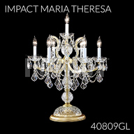 40809GL : Crystal Chandelier