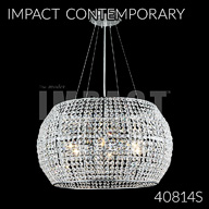 40814S : Crystal Chandelier