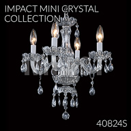 40824S : Mini Crystal Chandelier Collection