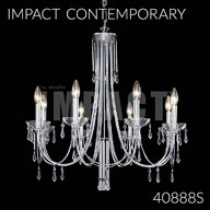 40888S : Crystal Chandelier