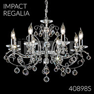 40898S : Crystal Chandelier