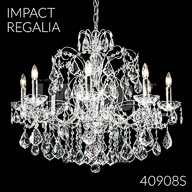 40908S : Crystal Chandelier