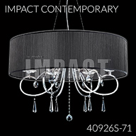 40926S : Crystal Chandelier