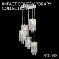 41045S : Crystal Chandelier
