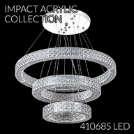 41068S : Crystal Chandelier