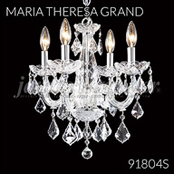 91804S : Crystal Chandelier