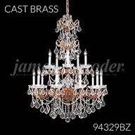 94329BZ : Madrid Cast Brass Collection