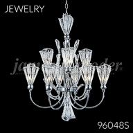 96048S : Crystal Chandelier