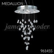 96145S : Crystal Chandelier