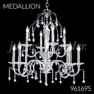 96169S : Crystal Chandelier