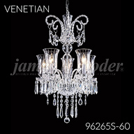 96265S : Crystal Chandelier