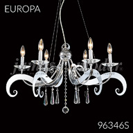 96346S : Crystal Chandelier