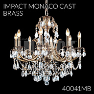 40041MB : Monaco Cast Brass Collection