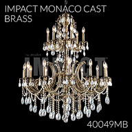 40049MB : Large Entry Crystal Chandelier