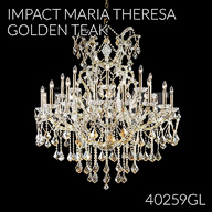 40259GL : Large Entry Crystal Chandelier