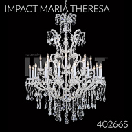 40266S : Large Entry Crystal Chandelier