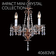 40683VB : Mini Crystal Chandelier Collection