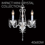 40683W : Mini Crystal Chandelier Collection