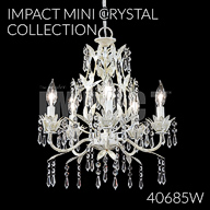 40685W : Mini Crystal Chandelier Collection