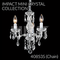40853S : Mini Crystal Chandelier Collection