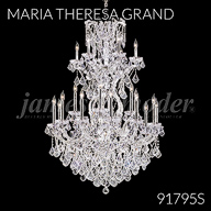 91795S : Large Entry Crystal Chandelier