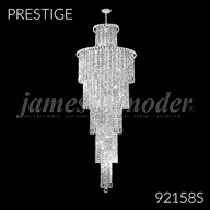 92158S : Large Entry Crystal Chandelier