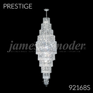 92168S : Large Entry Crystal Chandelier