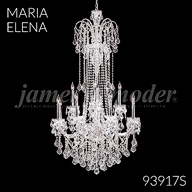93917S : Crystal Chandelier